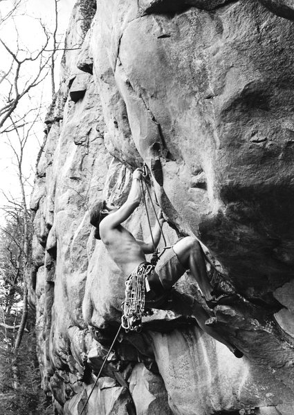 an early ascent of Marge