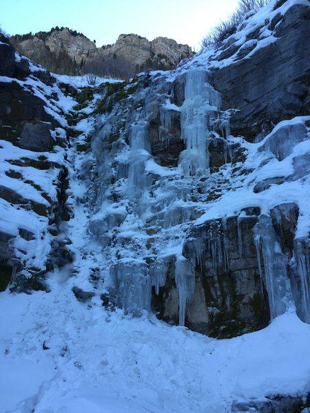 Second Falls, Aspen Grove 11-21-15