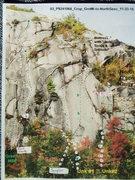 "Rock Climbing Photo: ""Saber Slab"": ""Sea of Green"" (..."