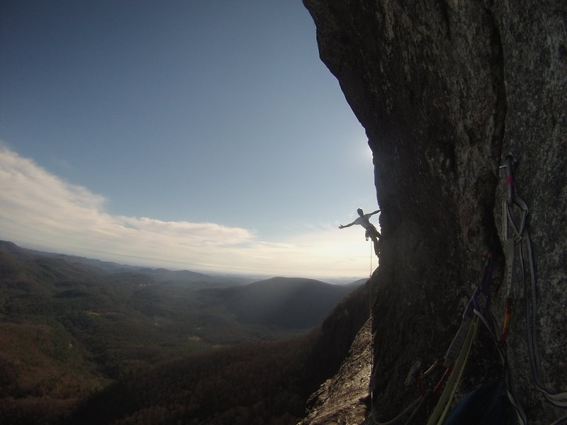 Robert on the second to last pitch of Traditions