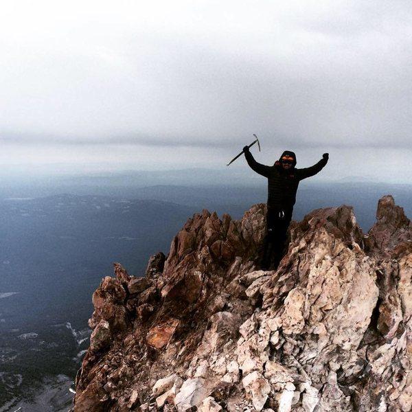 Summit of Mt. Shasta, June 28, 2015