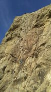 Rock Climbing Photo: The rock was nice and sunny today, cool seabreeze ...