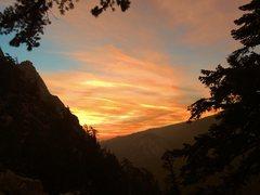 Rock Climbing Photo: San J sunset!!!