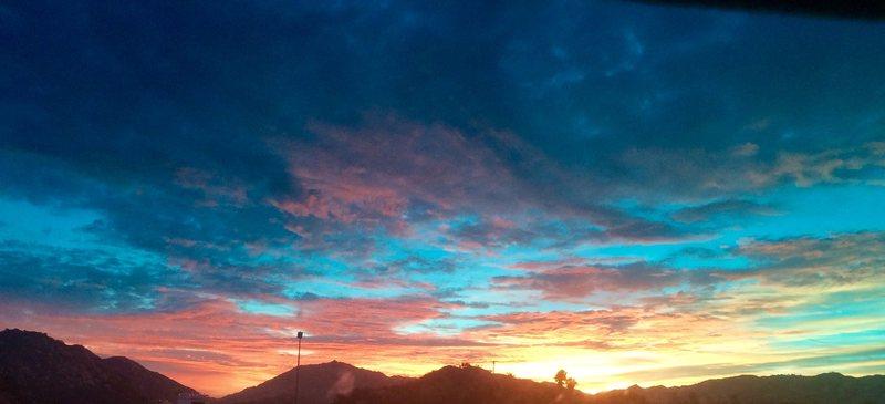 Sunrise over Rainbow!