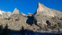 Rock Climbing Photo: Blodgett Falls 11/22/2015