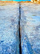 Rock Climbing Photo: Taxman Splitter!!!