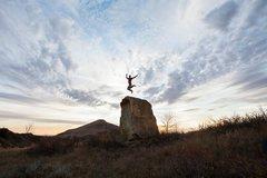 Rock Climbing Photo: Cool Boulder