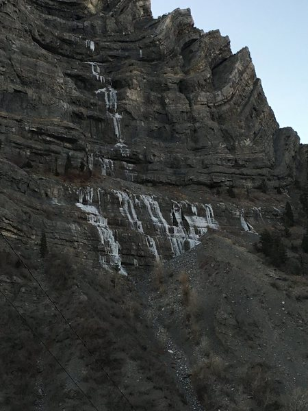 Rock Climbing Photo: Stairway