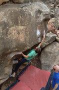 Rock Climbing Photo: another ravine.