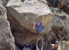Rock Climbing Photo: Some obscure (yet awesome) Schulte V11