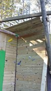 Rock Climbing Photo: Added a roof, but not sure about using it. Height ...