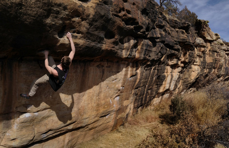 "Rock Climbing Photo: This is one of the ""popular"" walls at Ro..."
