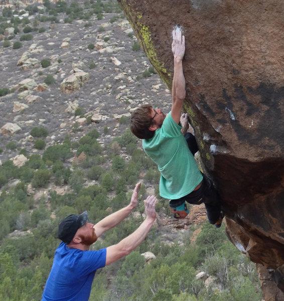 Rock Climbing Photo: v8 mono.. mmm!