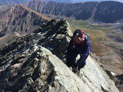 Rock Climbing Photo: Knife Edge.