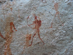 Rock Climbing Photo: San Rock Art