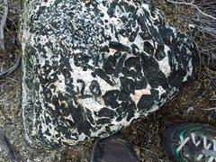 Rock Climbing Photo: Wheeler Crest Interesting Diorite rock