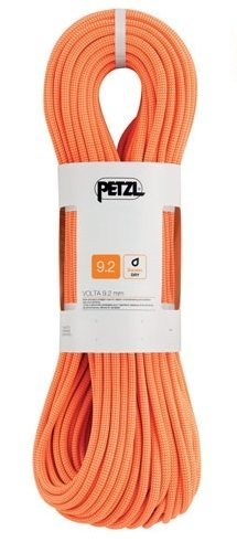 80m 9.2mm orange petzl volta