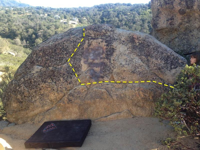 Rock Climbing Photo: Near Inaja Memorial Picinic Ground