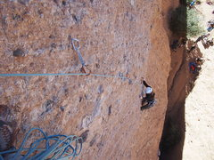 Rock Climbing Photo: I hope this photo is in the right place. Nicole fo...