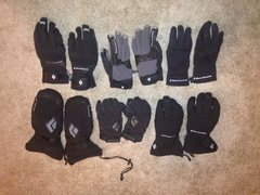 Rock Climbing Photo: BD gloves