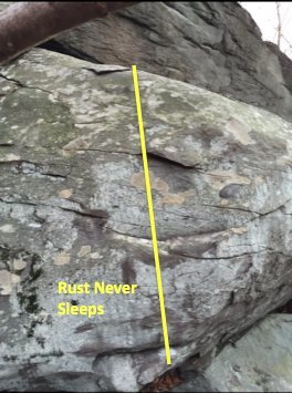 route info for Rust Never Sleeps V3