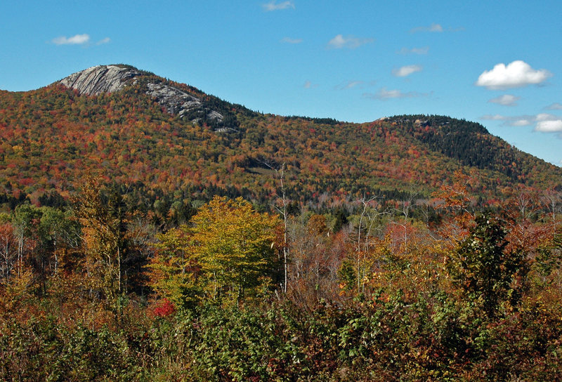Rock Climbing Photo: Middle and North Sugarloaf (left and right)