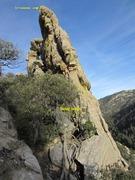 Rock Climbing Photo: West edge of Wailing Wall.