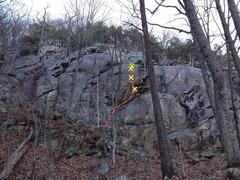 Rock Climbing Photo: Ten Alpha, Photo credit Mark O'Neal