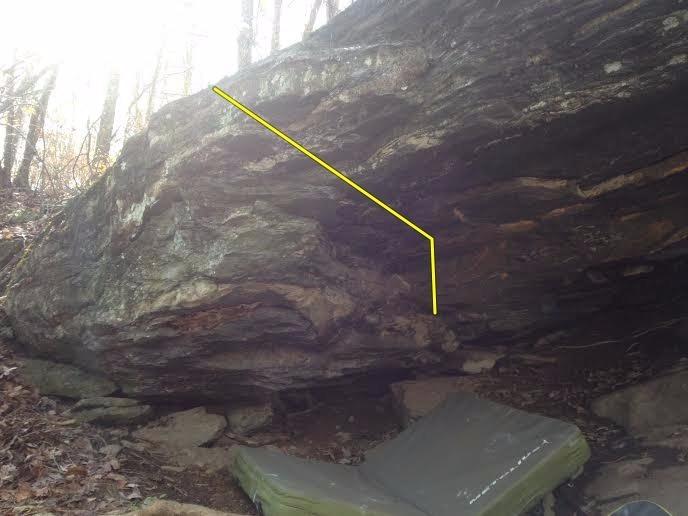 Rock Climbing Photo: Pancake Escape(yellow)