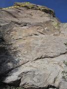 Rock Climbing Photo: Wish I had a better shot... the foreshortening mak...