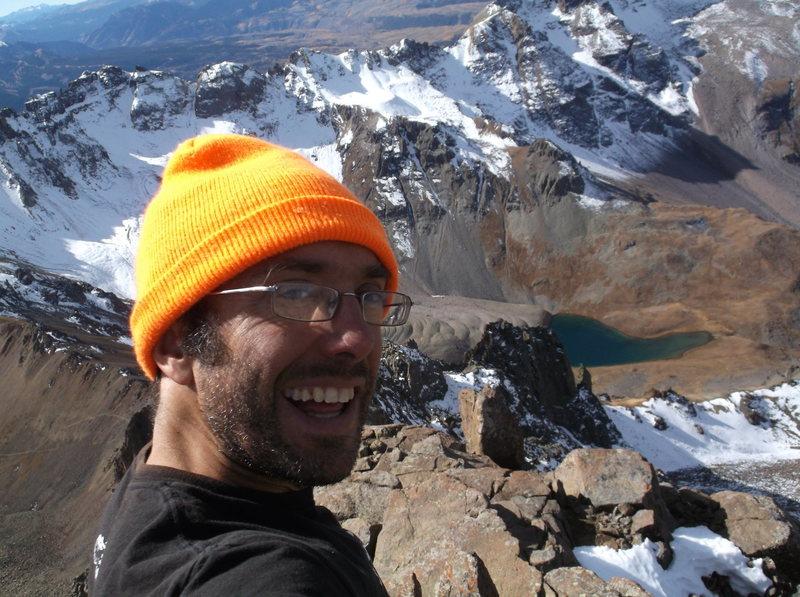 Rock Climbing Photo: breathless...atop Sneffels! My first 14er
