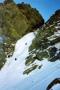 Rock Climbing Photo: Climbers on Pinnacle Gully.