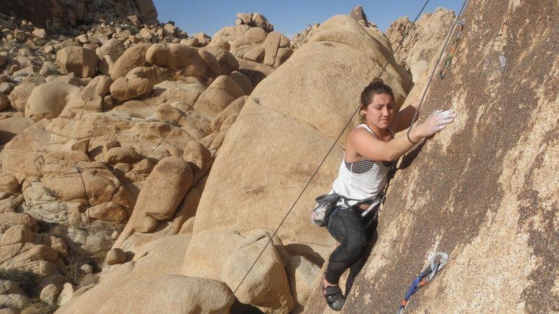 Rock Climbing Photo: Jackie Miranda on Amsterdam