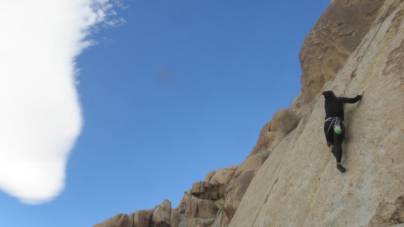 Rock Climbing Photo: Jackie Miranda on McStain....