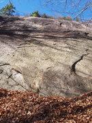 Rock Climbing Photo: START of Bonsai