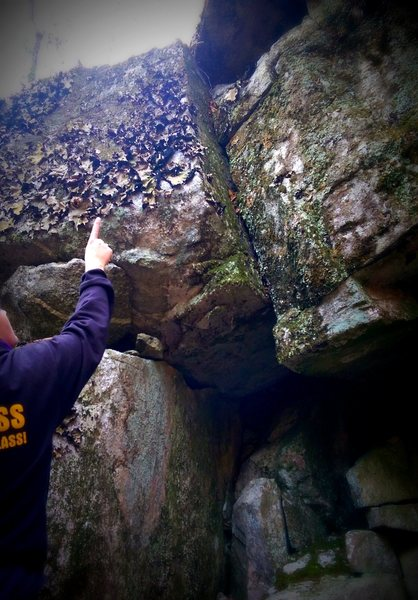 Rock Climbing Photo: Another crack cleaning opportunity.