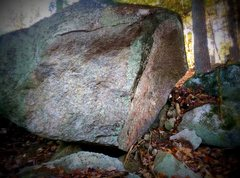 Rock Climbing Photo: Another small mantle problem nearby.