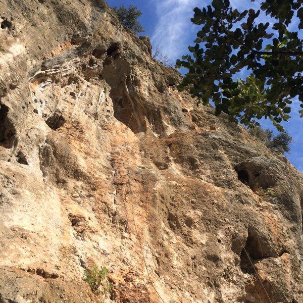Rock Climbing Photo: Pathfinder (7b.)