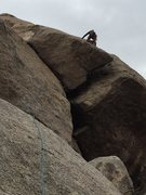 Rock Climbing Photo: Just when you think the fun is over, the spicy thi...