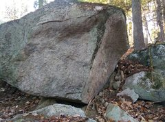 Rock Climbing Photo: The Mantle Boulder