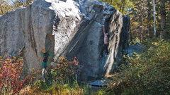 Rock Climbing Photo:    Stick the jug,... and, you've got it...