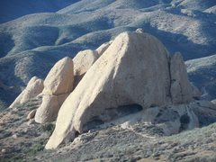 Rock Climbing Photo: Texas Canyon from the southeast.