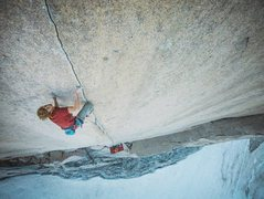 Rock Climbing Photo: Blood on the Crack pitch - Tom Egan Memorial route...