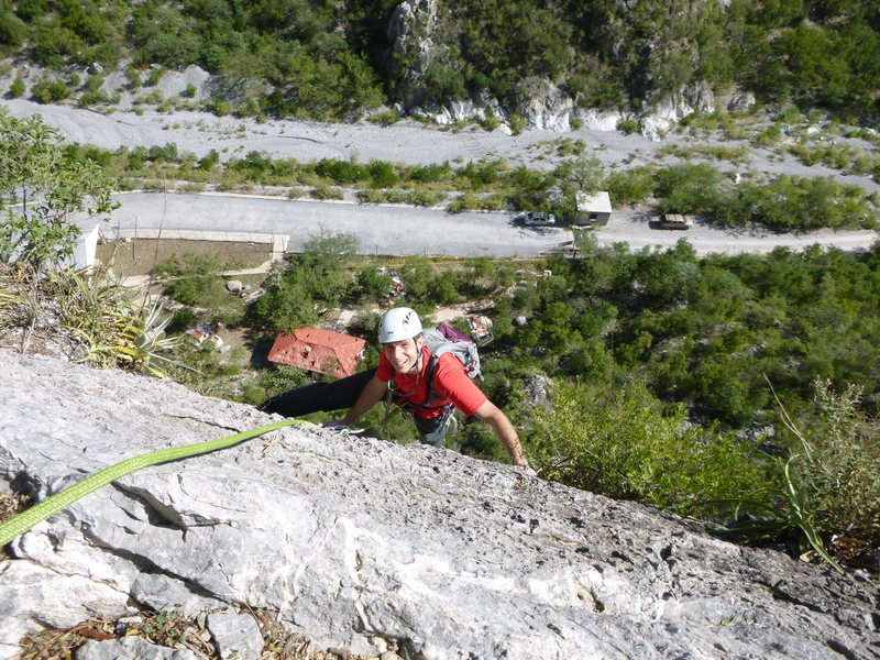 Rock Climbing Photo: Fun, but not necessarily memorable climbing.  Pitc...