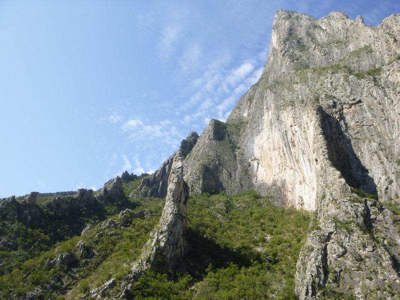 Rock Climbing Photo: A very impressive wall.