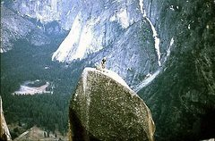 Rock Climbing Photo: Lost Arrow, 1972