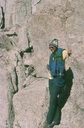 Rock Climbing Photo: Riverside quarry, 70's