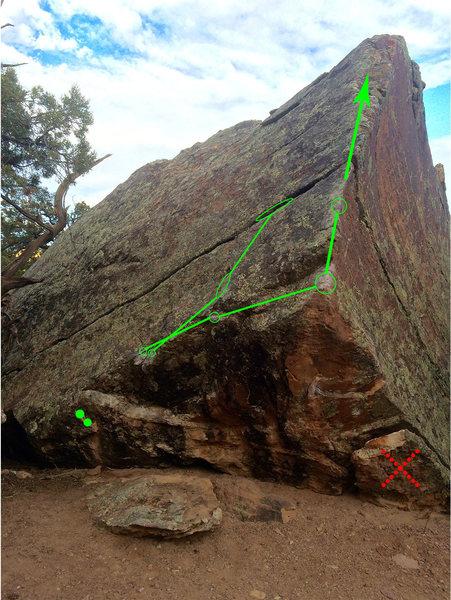 Rock Climbing Photo: BETA BETAAA!