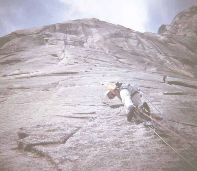 Rock Climbing Photo: El Cap, W. Buttress