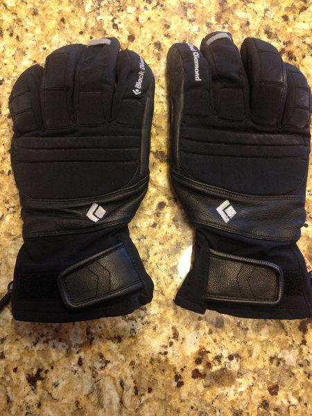 Punisher Gloves, black - like new